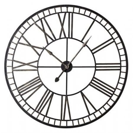 "skeleton clock ""70 cm diameter"""